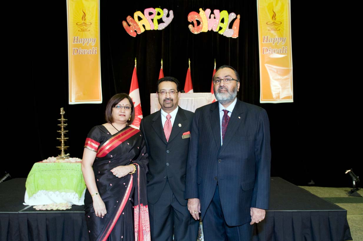 Daljit with Dr. Pradeep Merchant, Chair ICOBC and his wife Anita Merchant