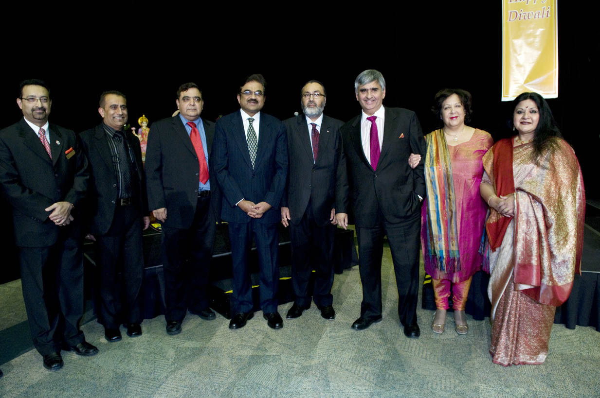 H.E. S. M. Govai, High Commissioner of India in Canada, and Deepak Obhrai, M.P. and Parliamentary Secretary to the Minister of Foreign Affairs