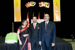 Daljit with Dr. Pradeep Merchant, Chair ICOBC and his wife Anita Merchant