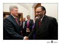 Daljit meets Prime Minister Stephen Harper