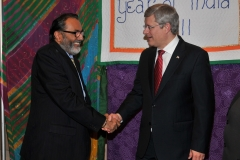 Rt. Hon. Stephen Harper, Prime Minister of Canada at Diwali on the Hill 2011