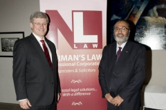 Daljit with the Rt. Hon. Stephen Harper, Prime Minister of Canada at Diwali on the Hill 2010