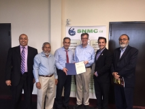 Daljit supporting the cause of SNMC, Nepean and can be seen with members of the Board of Directors and His Worship Jim Watson, Mayor of Ottawa and Michael Qaqish. 