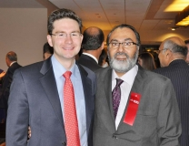 Pierre Poilievre, MP Parliamentary Secretary to the Prime Minister at Dhadkan's 8th Annual Fundraiser Event 2010
