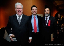 Pierre Poilievre, MP and Parliamentary Secretary to the Prime Minister, and John McFarlane at Dhadkan's 8th Annual Fundraiser Event 2010