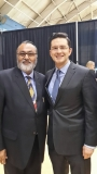 Daljit Nirman with The Honorable Pierre Polievre PC. MP. Minister of Employment and Social Development and Minister for National Capital Commission during reception of The Honourable Prime Minister of India Narendra Modi in Ottawa on April 14, 2015