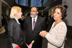 Daljit with Dr. Roseann Runte, President and Vice-Chancellor of Carleton University, and Dr. Habiba Chakir of Health Canada at the World Punjabi Conference 2011 in Ottawa