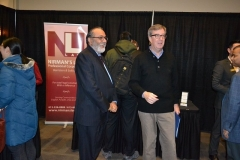Daljit is seen with His Worship Jim Watson, Mayor of Ottawa