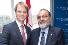 With the Hon. Chris Alexander, Minister of Citizenship and Immigration, January 2015