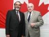 Daljit with Royal Galipeau, MP