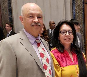 Surinder and Jagjeet Sharma