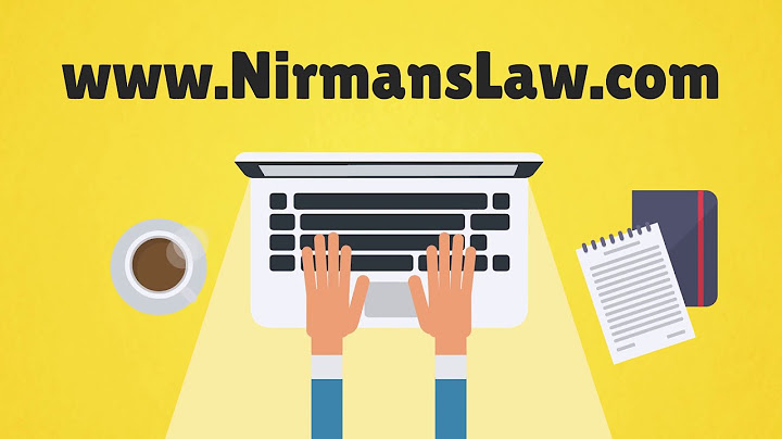 Nirman's Law – Company  Video