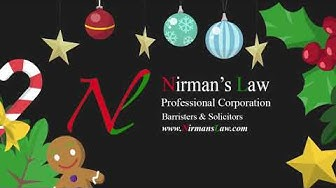 Happy Holiday's From Nirman's Law